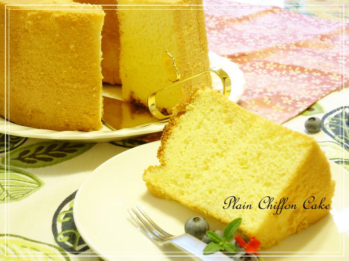 My Favorite Plain Chiffon Cake