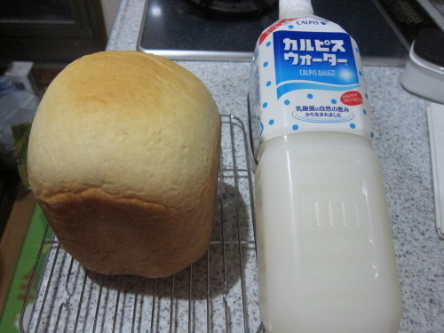 Bread Made With Calpis