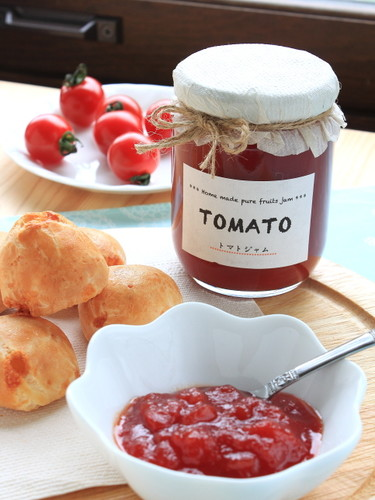Easy Tomato Jam Made with Canned Tomatoes