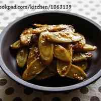 Teriyaki Burdock Root with Sesame Seeds