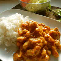 Easy Tandori Flavored Chicken Curry