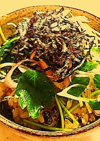 Egg over Rice with Shio-Kombu