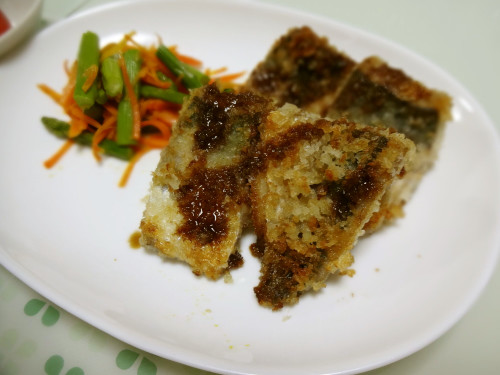 Easy Horse Mackerel Breaded with Mayo and Panko