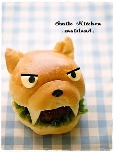 Little Wolf Sandwich Roll