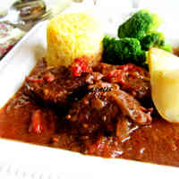 Beef Simmered In Beer