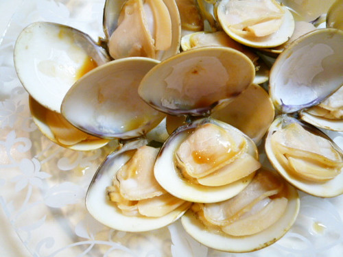 Amazing! Grilled Hamaguri Clams
