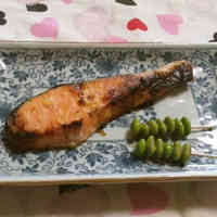 Simple Grilled Salmon with Shio-Koji
