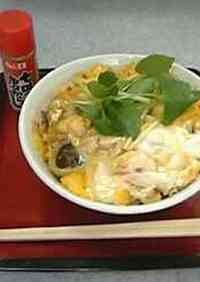 Egg & Chicken Rice Bowl with Dashi Seasoning and Soft-set Eggs