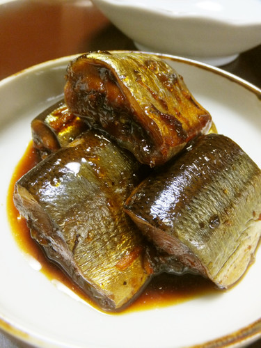 Pacific Saury Simmered in Ginger ☆ Rich, Sweet and Salty  Straight from Your Pressure Cooker