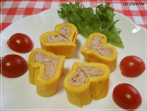 Kyaraben Side Item Heart Tamagoyaki