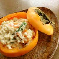 Restaurant-Style Persimmon Shira-ae
