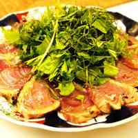 Easy Bonito Carpaccio