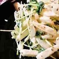 Asian Pear and Daikon Radish Sprout Salad