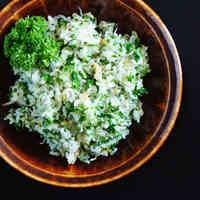 Parsley Garlic Rice