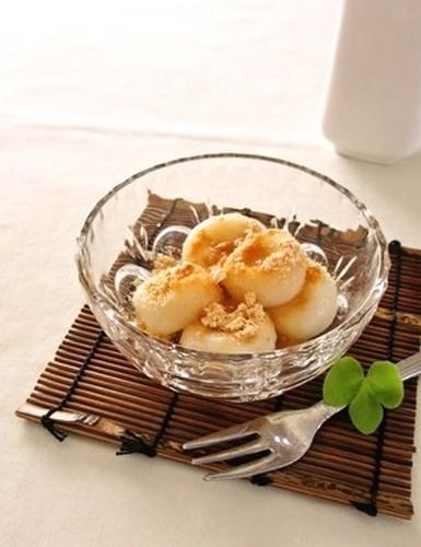 Chewy Tofu Shiratama