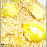 Golden Ratio Mentsuyu Chestnut Rice
