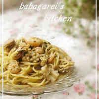 Fragrant Basil Seafood Soup Pasta