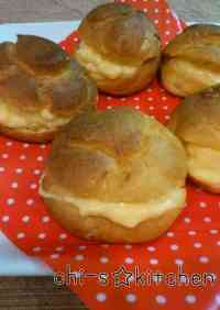 Easy With One Bowl Cream Puff Shells