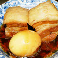 Tender Stewed Pork Belly Chunks
