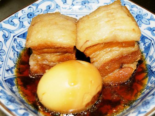 Tender Stewed Pork Belly Chunks
