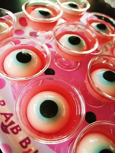 Halloween Eyeball Calpico Jellies