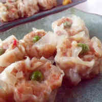 Delicious Pan-Fried Imitation Crab Shumai