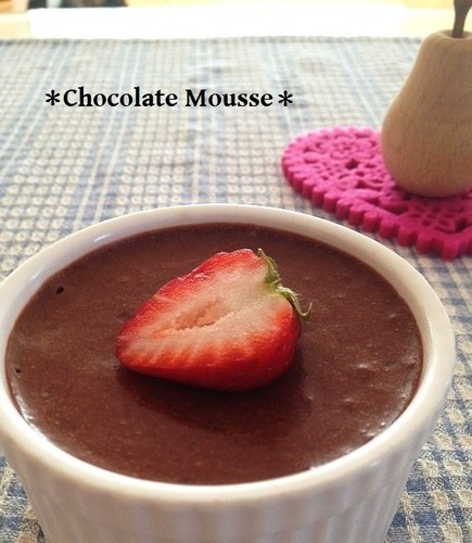 Made with Strained Yogurt: Simple and Rich Chocolate Mousse