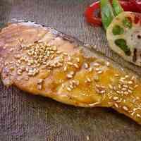 Sesame Vinegar Teriyaki Salmon