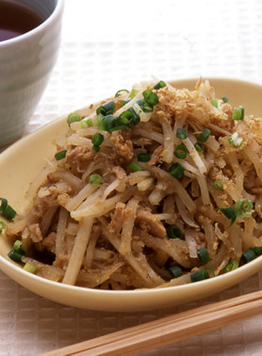 Stir-Fried Daikon Radish & Tuna