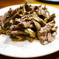 Beef and Maitake Mushroom Stir Fry with Butter Soy Sauce