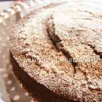 Rice Flour Cocoa Cake for Valentine's Day