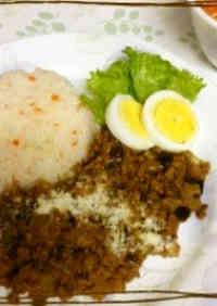 Eggplant and Ground Pork Curry