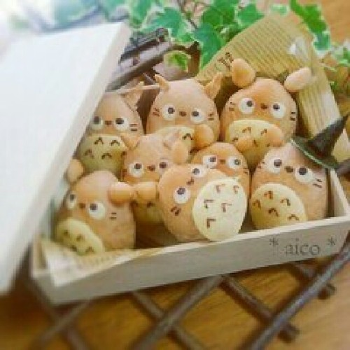 Totoro Roll Bread