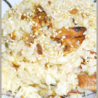 Easy Flavored Rice Made with Canned Kabayaki-style Pacific Saury