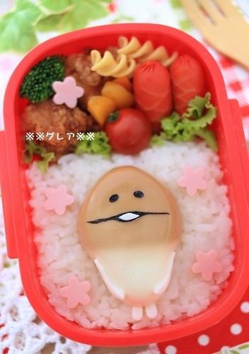 "For Character Bentos: Easy to Make a Hard Boiled Egg - ""Nameko Saibai Kit"""