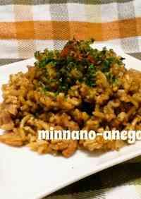 Fried Rice + Yakisoba Noodles = Fried NoodleRice