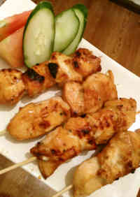 I had this in Bali! Satay!  Indonesian Yakitori