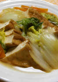 Simmered Chinese Cabbage & Atsuage