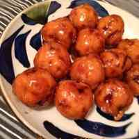 Okara Tofu Meatballs with a Sweet Vinegar Sauce
