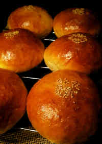 Easy Sweet Bean Paste Buns with a Bread Maker