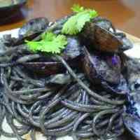 Pitch Black Squid Ink Pasta