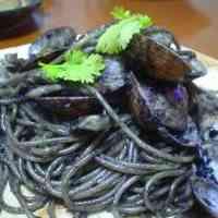 Pitch Black Squid Ink Pasta