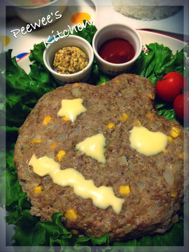 Halloween! Easy Meatloaf