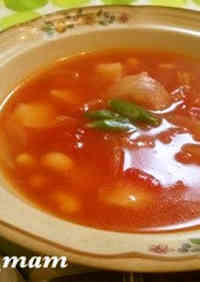 Hot and Warming Minestrone Soup