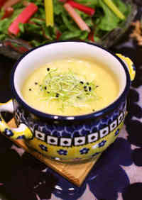 Silky and Smooth Chinese-style Corn Soup