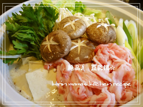 Really Delicious Soy Milk Nabe (Hotpot)