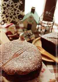 Gateau au Chocolat For Christmas
