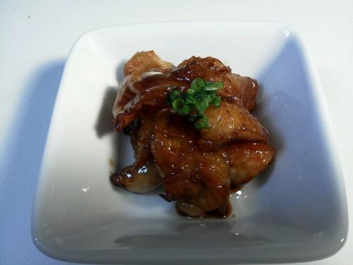 Yakitori-style Crispy Chicken Skin