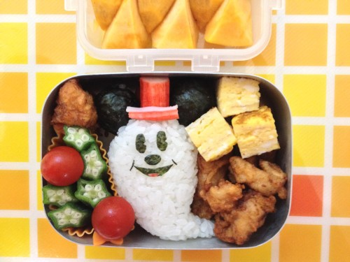 A Bento for a Kindergartener (Halloween Mickey Mouse)