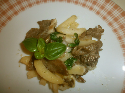 Beef and Apple Stir-Fry